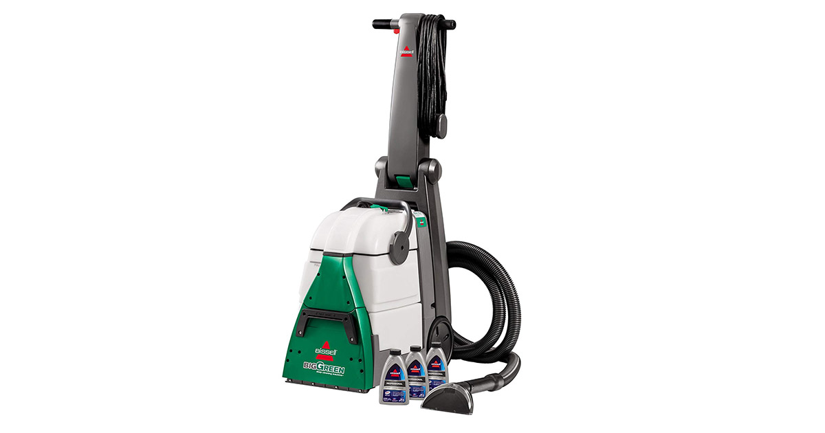 Bissell Big Green Deep Cleaning Machine 86t3 Reviewed