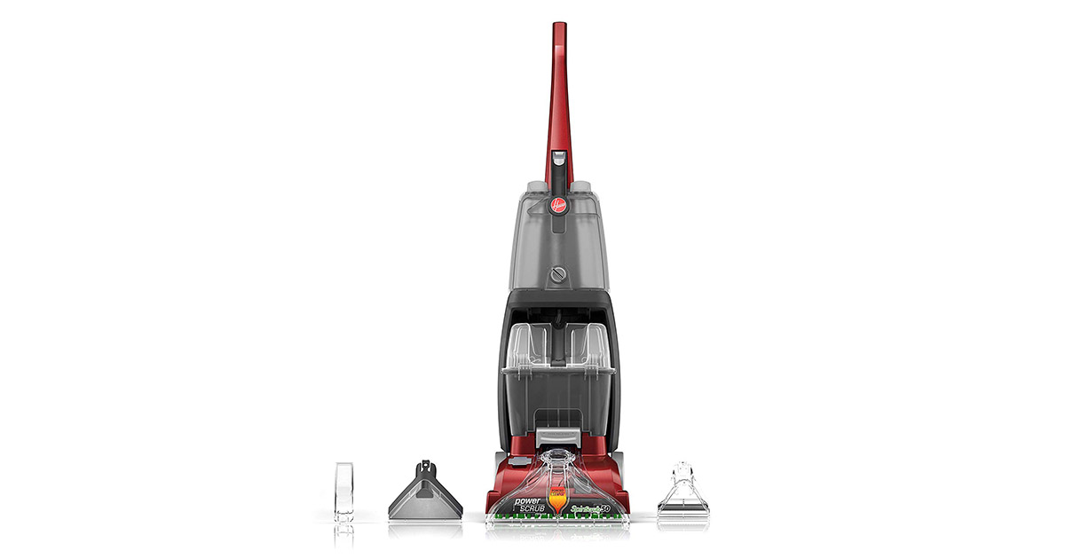 Hoover FH50150 Power Scrub Deluxe Carpet Cleaner Machine image