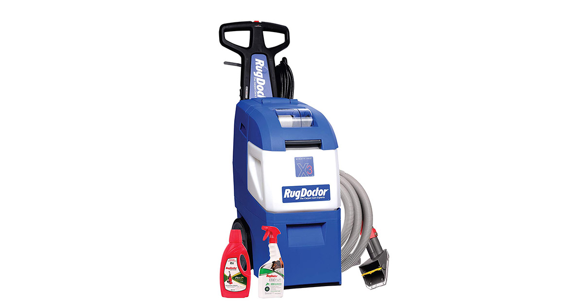 Rug Doctor 95521 Mighty Pro X3 Pet Pack Carpet Cleaner image