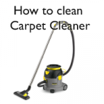 How clean a carpet cleaner image