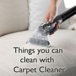 Things we can clean with Carpet Cleaner Image