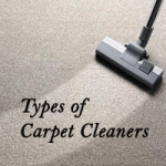 Types of Carpet Cleaner Machine Image