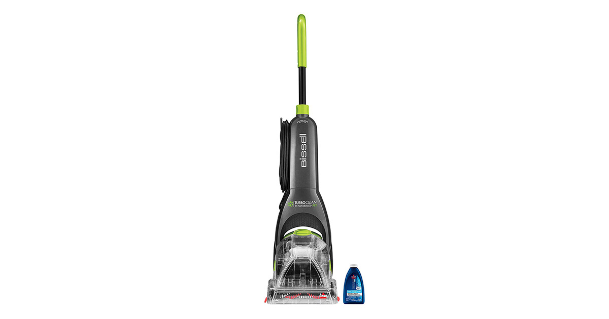 BISSELL 2085 Turboclean Powerbrush Pet Upright Carpet Cleaner Machine image