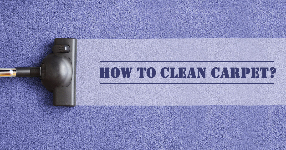 How to Clean Carpet image
