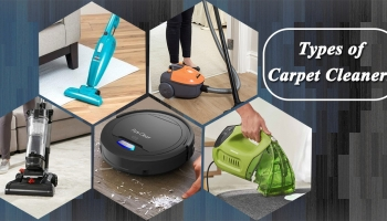 Different Types of Carpet Cleaners – Canister, Upright, Robot Vacuum, Handheld
